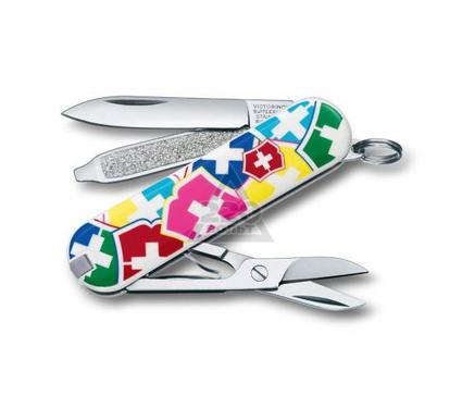 Нож-брелок VICTORINOX Classic ''VX Colors'' 0.6223.841