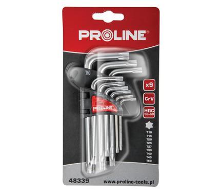 Набор шестигранных ключей PROLINE 48339:P