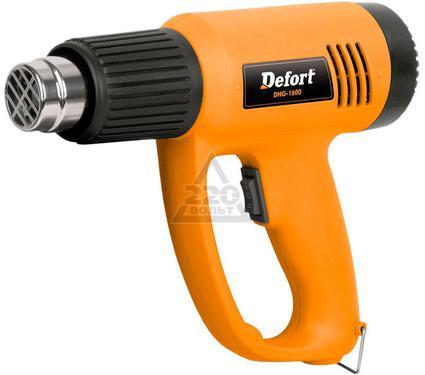 Фен технический DEFORT DHG-1600