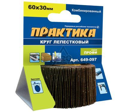 Круг Лепестковый Торцевой (КЛТ) ПРАКТИКА 649-097