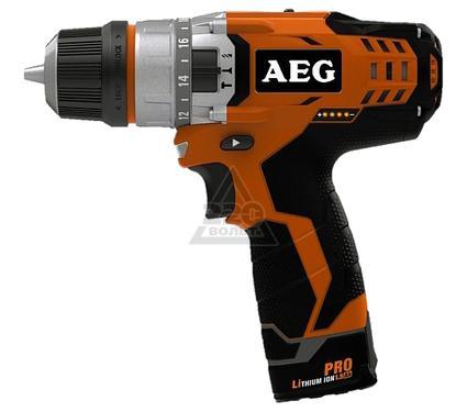 Дрель аккумуляторная AEG BSB 12C2 LI-KIT2B ударная