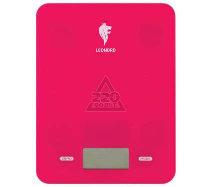 Весы кухонные LEONORD LE-4011 (малиновые)