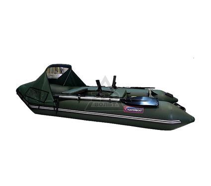 Лодка HUNTERBOAT Хантер 320 Л зеленая