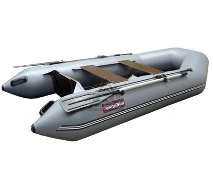Лодка HUNTERBOAT Хантер 290 ЛК серая Комфорт