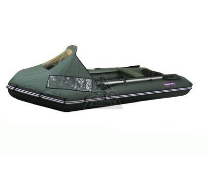 Лодка HUNTERBOAT Хантер 320 Л зеленая Комфорт