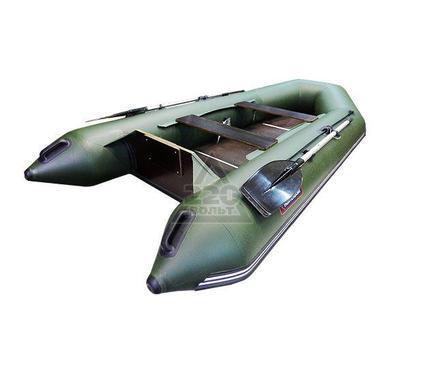 Лодка HUNTERBOAT Хантер 320 ЛК зеленая Комфорт