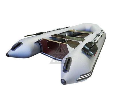 Лодка HUNTERBOAT Хантер 320 ЛК серая Комфорт