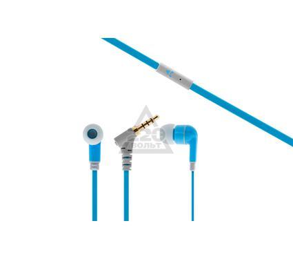 Наушники-вкладыши INTER STEP HF-175 (голубая)