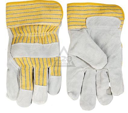 Перчатки спилковые TOPEX 83S111