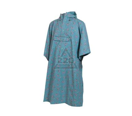 Пончо MAC IN A SAC Poncho Soft Teal Floral