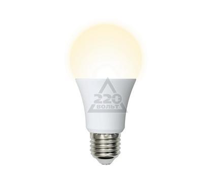 Лампа светодиодная VOLPE LED-A60-8W/WW/E27/FR/DIM/O