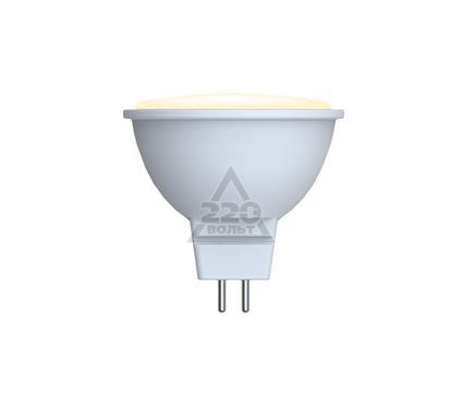 Лампа светодиодная VOLPE LED-JCDR-5W/WW/GU5.3/DIM/O