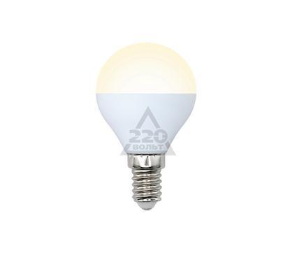 Лампа светодиодная VOLPE LED-G45-6W/WW/E14/FR/O