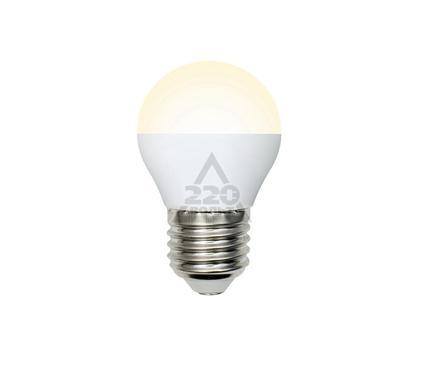 Лампа светодиодная VOLPE LED-G45-6W/WW/E27/FR/O