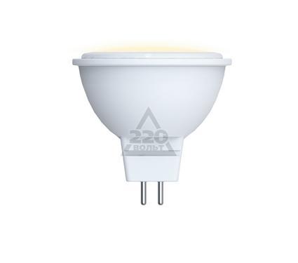 Лампа светодиодная VOLPE LED-JCDR-5W/WW/GU5.3/O