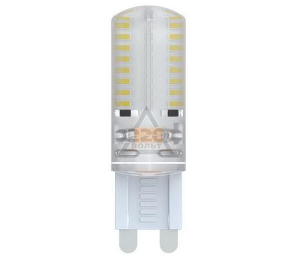 Лампа светодиодная VOLPE LED-JCD-2,5W/WW/G9/CL/S