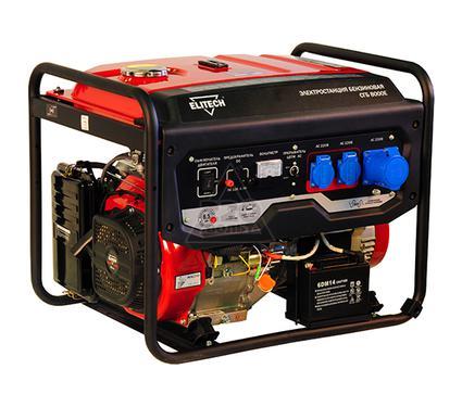 Бензиновый генератор ELITECH СГБ 8000Е