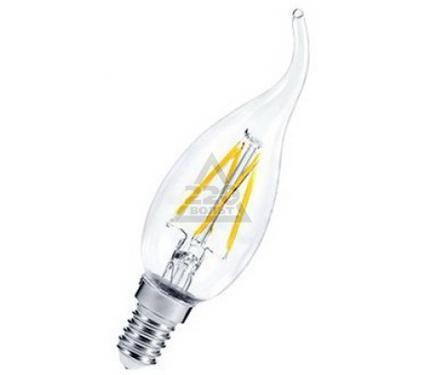 Лампа светодиодная ASD LED-СВЕЧА НА ВЕТРУ-PREMIUM 5.0Вт 160-260В Е14 3000К