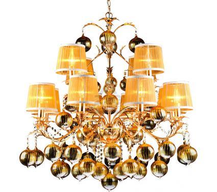 Люстра ARTE LAMP MONARCH A1199LM-8-4GO