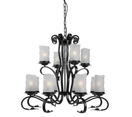 Люстра ARTE LAMP SCROLL A7915LM-8-4BK