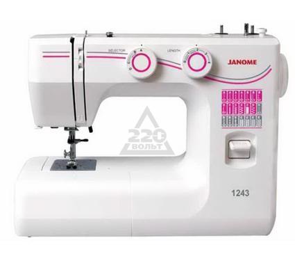 Швейная машинка JANOME 1243  3операции прямая строчка зигзаг