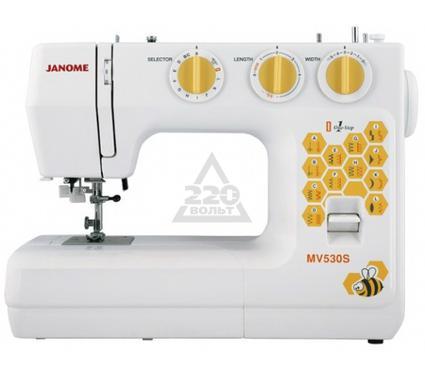 Швейная машинка JANOME MV530S  23операции петля авт.  нитеобрезатель доп. подъем лапки жесткий чехо