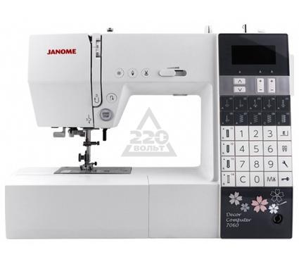Швейная машинка JANOME 7060DC  60операций 4вида петель гор. челнок LCDэкран LEDосвещение