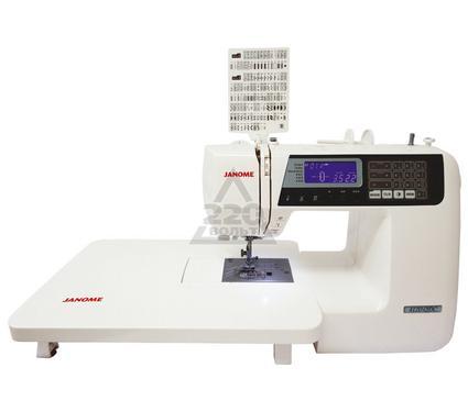 Швейная машинка JANOME 4120QDC  122операций 10операций прямого выбора 7видов петель 4алфавита