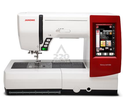 Швейная машинка JANOME Memory Craft 9900  швейно-вышивальная 619операций 6видов петель 4вида шрифто