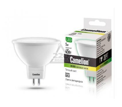 Лампа светодиодная CAMELION LED5-S108/830/GU5.3