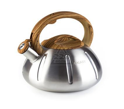Чайник со свистком GALAXY GL 9206