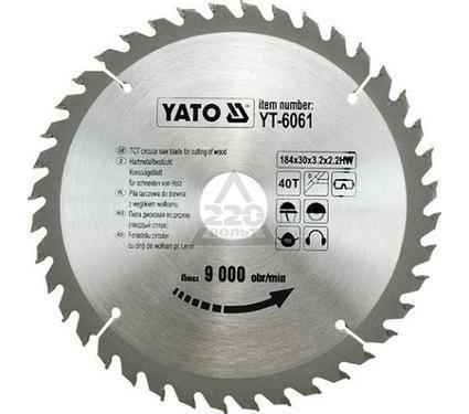 Диск пильный твердосплавный YATO YT-6061