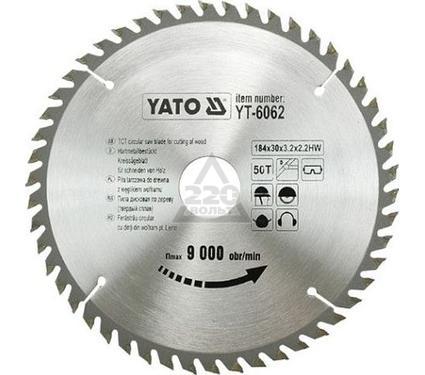 Диск пильный твердосплавный YATO YT-6062