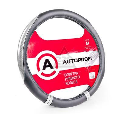 Оплетка AUTOPROFI AP-1412 BK/SILVER (M)