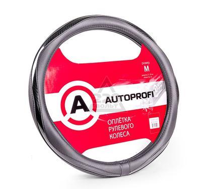 Оплетка AUTOPROFI AP-1413 BK/BK (M)