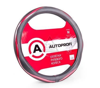 Оплетка AUTOPROFI AP-1413 BK/PINK (M)