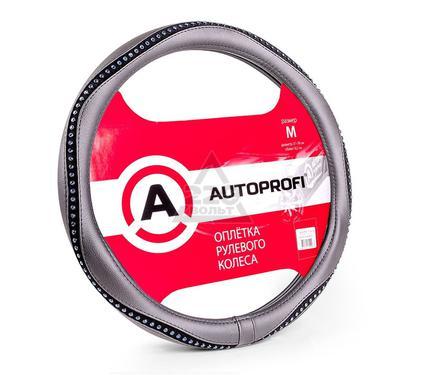 Оплетка AUTOPROFI AP-1414 BK/BL (M)