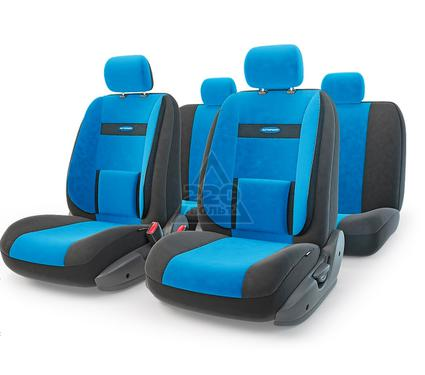 Чехол на сиденье AUTOPROFI COM-1105 BK/BL (М)