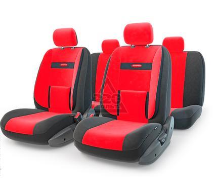 Чехол на сиденье AUTOPROFI COM-1105 BK/RD (М)
