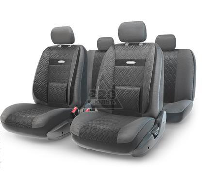 Чехол на сиденье AUTOPROFI COM-1105GP BK/BK (М)