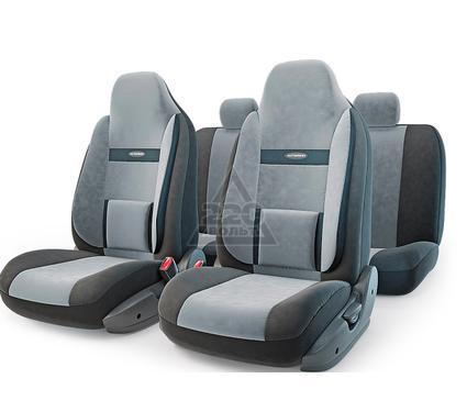 Чехол на сиденье AUTOPROFI COM-1105H BK/D.GY (М)