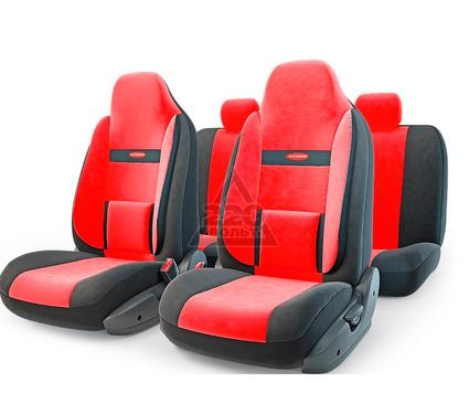 Чехол на сиденье AUTOPROFI COM-1105H BK/RD (М)
