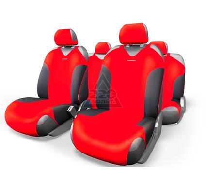 Чехол на сиденье AUTOPROFI FOR-802 BK/RD