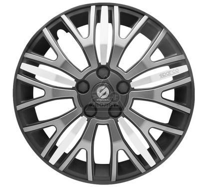 Колпаки на колёса SPARCO SPC/WC-1350X BK/GY/SILVER (14)