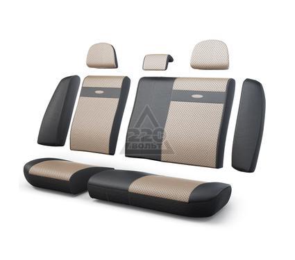 Чехол на сиденье AUTOPROFI TRS-002G BK/L.BE