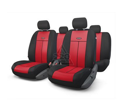 Чехол на сиденье AUTOPROFI TT-902M BK/RD