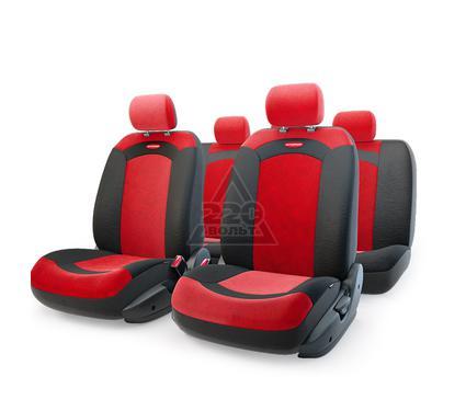 Чехол на сиденье AUTOPROFI XTR-803 BK/RD (M)
