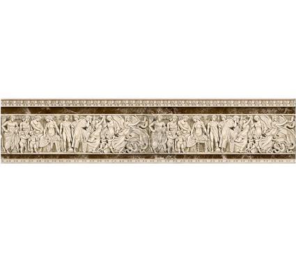 Бордюр керамический INTERCERAMA БВ66031-2 Emperador коричневый