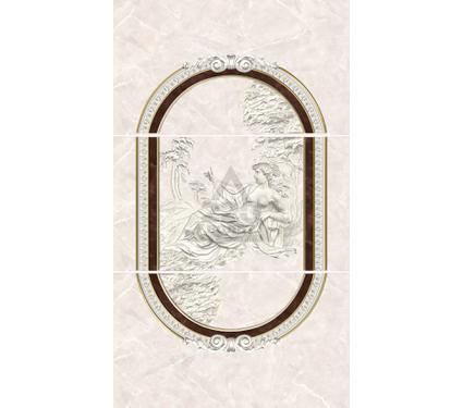 Декор-панно керамический INTERCERAMA П20031 Pietra коричневый