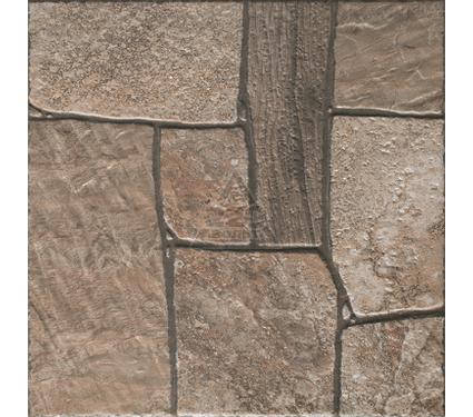 Плитка напольная ROVESE (CERSANIT) EE4P012D Exterio коричневый